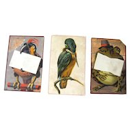 Vintage Animal Trade Cards / Advertising Trade Cards / Vintage Illustration / Ariosa Coffee