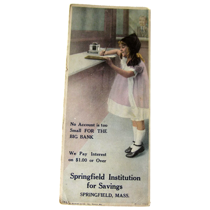 Ink Blotter Advertising Card Collectibles