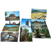 Scenic Photographic Postcard Destash Lot with Boston and More / Vintage Postcards / Vintage Ephemera / Scrapbooking Post Cards