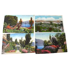 Scenic Tinted Photograph Postcard Destash Lot / Vintage Postcards / Vintage Ephemera / Souvenir Post Cards