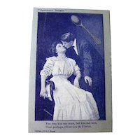 Spooners Delight Vintage Postcard - Photo Postcard - Lovers Postcard - Romantic Post Card - Vintage Ephemera