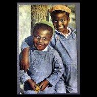 Vintage Post Card Black Americana