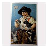James Pyle's Pearline Vintage Trade Card