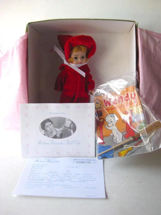 Madame Alexander Wendy Doll Vintage Doll Collectible