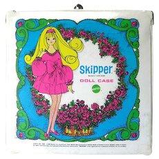 Vintage Skipper Doll Case by Mattel - Doll Case - Mattel Toys - Barbie Doll - Vintage Dolls