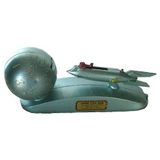 Mechanical Coin Shooter Rocket Ship Bank - Collectible Bank - Coin Bank