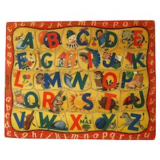 Walzer ABC Jigsaw Puzzle For Kids Great For Nurery Decor