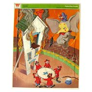 Walt Disney DUMBO Jigsaw Puzzle by Whitman