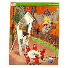 Walt Disney DUMBO Jigsaw Puzzle by Whitman