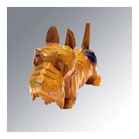 Scottish Terrier Cast Metal Figurine