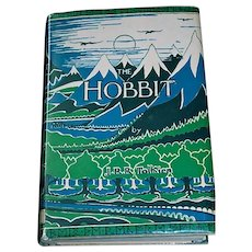 The Hobbit (Authored by J.R.R. Tolkien, 1955/3rd printing, 2nd edition, 7th impression/Published by Houghton Mifflin Co., Boston, MA/Printed same year in Great Britain)