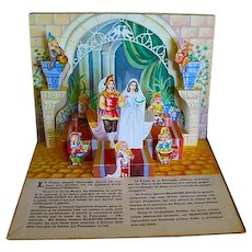 Blanche Neige (Pop-up Snow White, French Text): Authored by Lucos Mulhouse; Paris, France; 1955