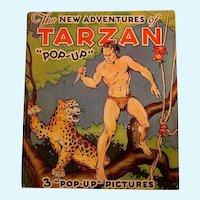 "The New Adventures of Tarzan ""Pop-up"": Edgar Rice Burroughs/Publ: Pleasure Books, Inc./1935"