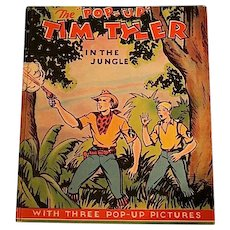 "The ""Pop-Up Tim Tyler In the Jungle, Lyman Young, Publ: Pleasure Books, Inc., 1935"