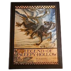 The Legend of Sleepy Hollow, Washington Irving, Illustr. by Arthur Rackham, First American Ed.