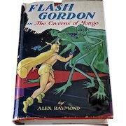 Flash Gordon in The Caverns of Mongo, Alex Raymond, First Edition, Original Dust Jacket, 1936