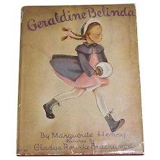 Geraldine Belinda, Marguerite Henry, 1942 , First Edition