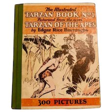 The Illustrated Tarzan Book No. 1, Illustrated by Hal Foster, First Edition, 1929