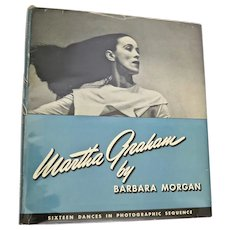Martha Graham by Barbara Morgan, First Edition, 1941