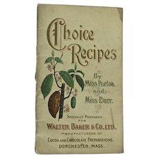 Choice Recipes