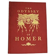 The Odyssey of Homer, Illustrated by N.C. Wyeth, First Ed.