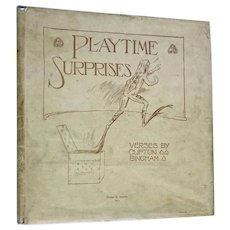 Playtime Surprises, Ernest Nister, Victorian Mechanical Book