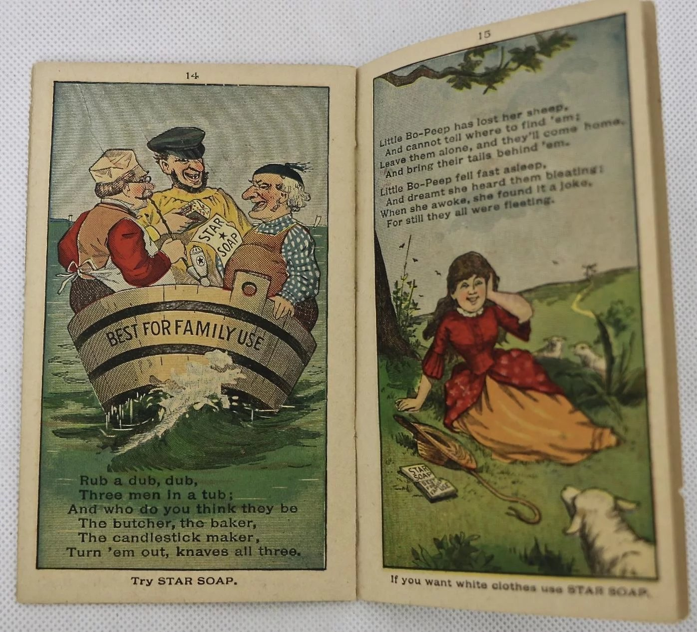 Star Soap advertising booklet-Little Red Riding Hood, ca:1890 ...