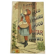 Star Soap advertising booklet-Little Red Riding Hood, ca:1890