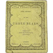 The Story of The Three Bears, 1848