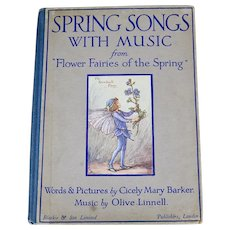 Spring Songs With Music, 1929 First Edition