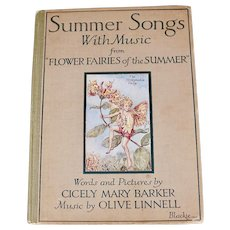 Summer songs With Music, Cicely Mary Barker, 1929