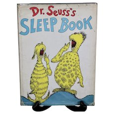 Dr. Seuss's Sleep Book/1964/First English Edition