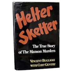 Helter Skelter/Vincent Bugliosi/Signed