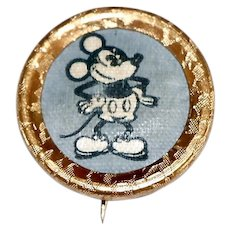 1930's Mickey Mouse Hat pin