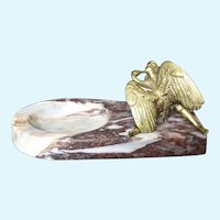Leda and the Swan on Marble Tray