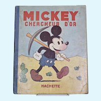 Walt Disney's Mickey Chercheur D'or (Gold Prospector)