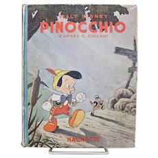 Walt Disney's Pinocchio/First Hachette Edition