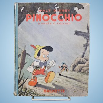 Walt Disney's Pinocchio/First Hachette Edition