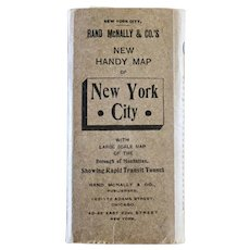 Rand McNally New York City Map-1911