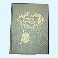 Tennyson's Heroes and Heroines Book/ c: 1890