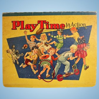 Play Time In Action-1949 Pop-up