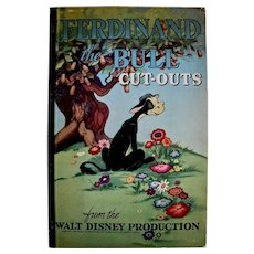 Ferdinand The Bull Cut-out Book