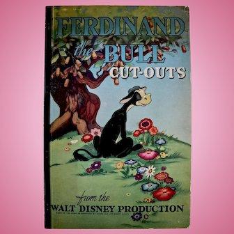 Ferdinand The Bull Cut-out Book