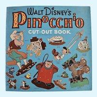 Walt Disney's Pinocchio Cut-out Book