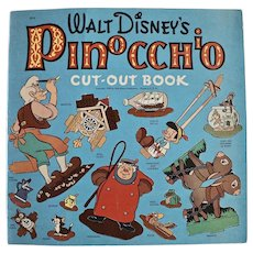 Walt Disney's Pinocchio Cut-out Book