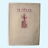 The Tempest, First Trade Edition, Illustrated by Arthur Rackham