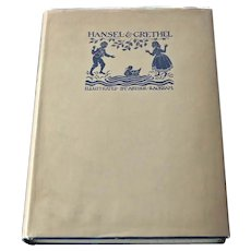 Hansel and Grethel, First Edition, Arthur Rackham