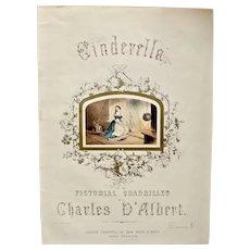 Cinderella Pictorial Quadrilles (Music For Dance) circa: 1851