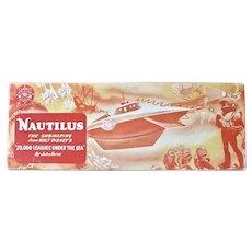 1954 Nautilus wind-up clockwork diving submarine toy