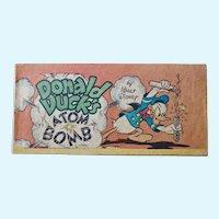 Donald Duck's Atom Bomb, 1947 Cheerios cereal premium comic book